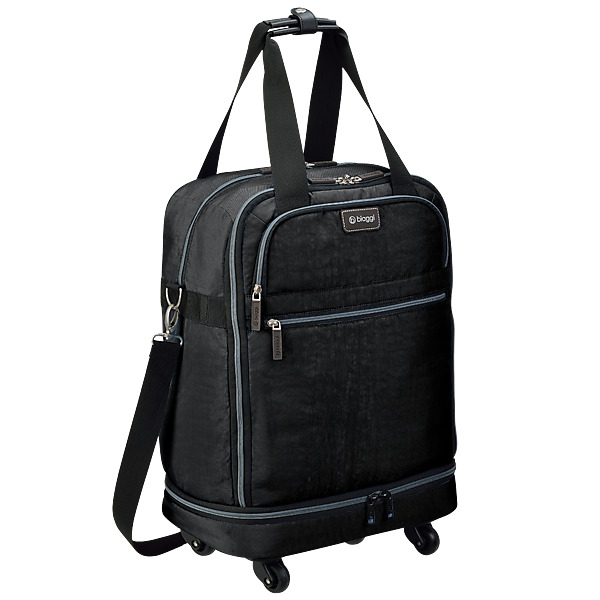 video Valise Zip 55 cm Biaggi - La Valise Pliante 2 en 1