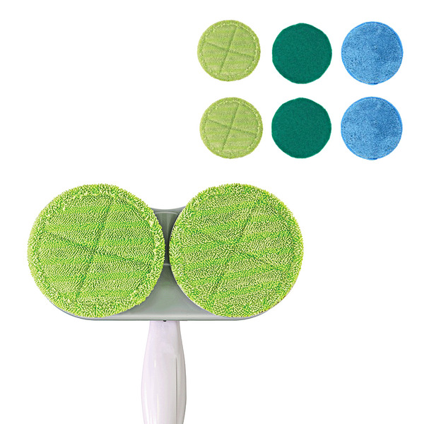 DUO SPINNER + MICROFIBRES
