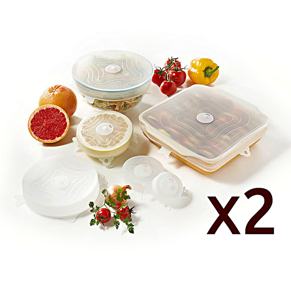 MALINO COUVERCLE X12 - Conservation aliments
