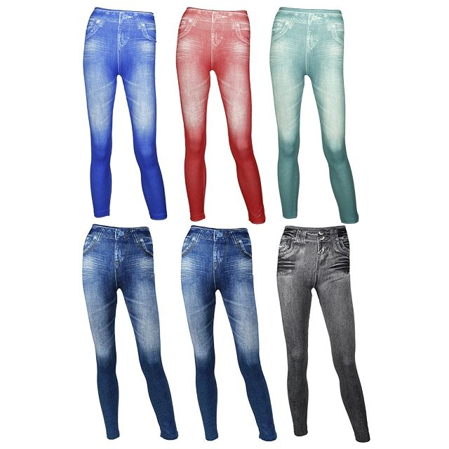 JEGGINGS AMINCISSANTS + JEGGINGS AMINCISSANTS COLORS
