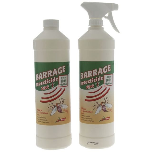 BARRIERE INSECTES NATURE 1L - Lot de 2